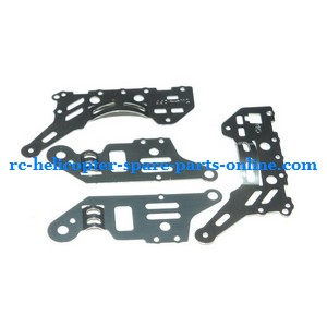 DFD F106 RC helicopter spare parts metal frame set