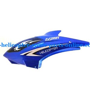 DFD F161 helicopter spare parts head cover blue color V2