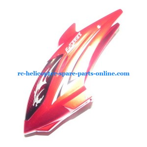 DFD F161 helicopter spare parts head cover red color V2