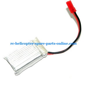 DFD F161 helicopter spare parts 3.7v 600Mah battery