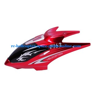 DFD F163 helicopter spare parts head cover red