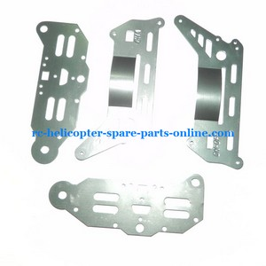 DFD F163 helicopter spare parts metal frame