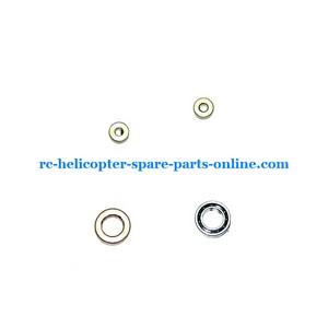 DFD F163 helicopter spare parts 2x big bearing + 2x small bearing