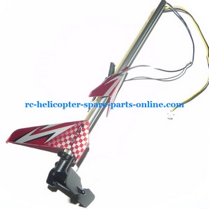 DFD F163 helicopter spare parts tail set red color