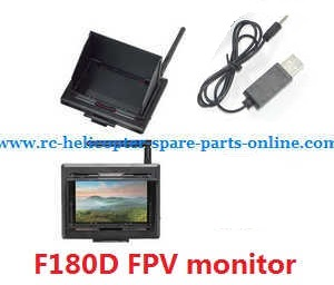 DFD F180 F180D F180C quadcopter spare parts 5.8G FPV Monitor set