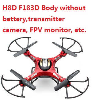 JJRC H8D Body without transmitter,battery,camera,monitor.etc.