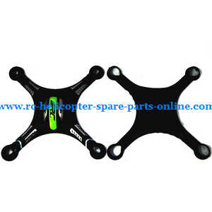 JJRC H8 H8C H8D quadcopter spare parts upper and lower cover (Black)