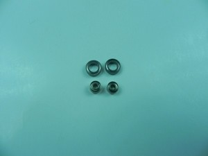 MJX F28 F628 RC helicopter spare parts bearing set (2x big + 2x small) 4pcs