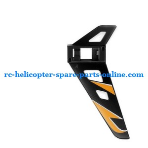 SYMA F3 helicopter spare parts tail decorative set Black color