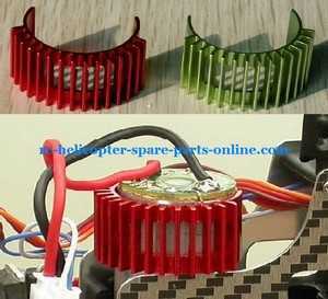MJX F45 F645 helicopter spare parts heat sink of the main motor (red color)