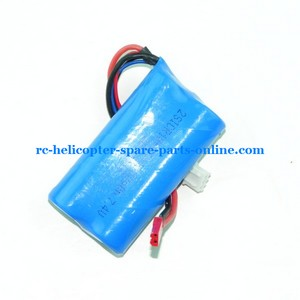 MJX F45 F645 helicopter spare parts battery 7.4v 2200mAh red JST plug