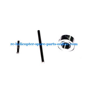 MJX F45 F645 helicopter spare parts aluminum ring + iron bar set of the balance bar and grip set