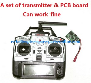 MJX F45 F645 helicopter spare parts transmitter + PCB BOARD (set)