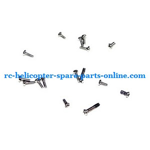 MJX F47 F647 RC helicopter spare parts screws set