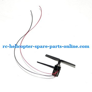 MJX F47 F647 RC helicopter spare parts tail blade + tail motor + tail motor deck (set)