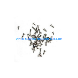 MJX F49 F649 RC helicopter spare parts screws set