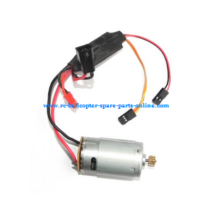 MJX F49 F649 RC helicopter spare parts main motor + ESC set