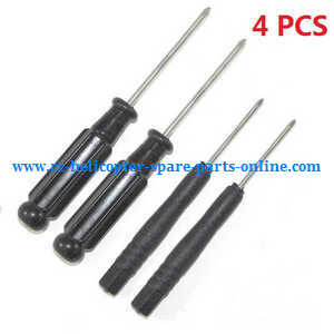 Wltoys WL F949 Cessna-182 Airplanes Helicopter spare parts cross screwdrivers (4pcs)