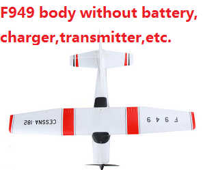 Wltoys WL F949 body without transmitter,battery,charger,etc.