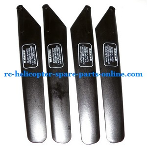 FQ777-502 helicopter spare parts main blades (2x upper + 2x lower)
