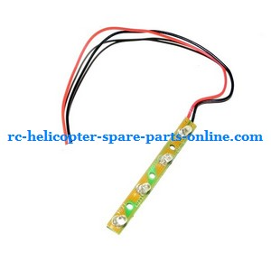 FQ777-502 helicopter spare parts side LED bar