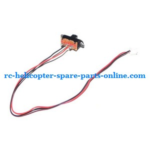 FQ777-502 helicopter spare parts on/off switch wire