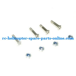 FQ777-502 helicopter spare parts fixed screws for the blades