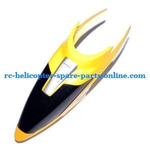 FQ777-505 helicopter spare parts head cover (Yellow)