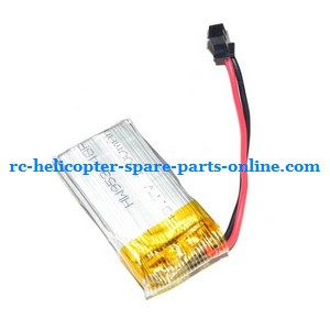 FQ777-505 helicopter spare parts battery 3.7V 1100mAh SM plug