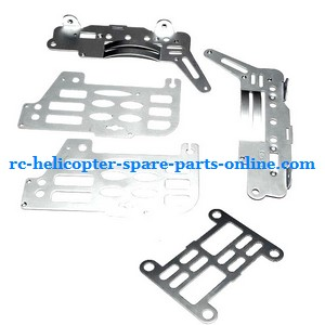 FQ777-505 helicopter spare parts metal frame set