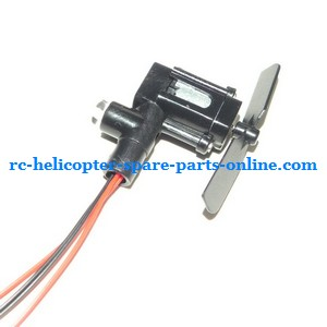 FQ777-505 helicopter spare parts tail blade + tail motor + tail motor deck + tail LED light (set)