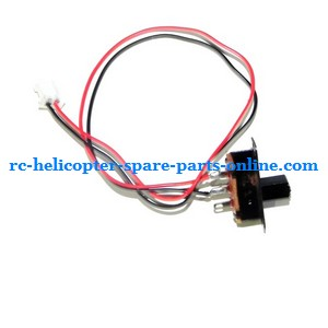 FQ777-555 helicopter spare parts on/off switch wire