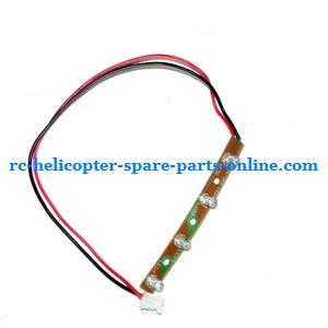 FQ777-555 helicopter spare parts side LED bar