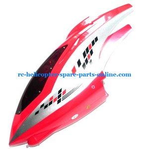 FQ777-603 helicopter spare parts head cover red color