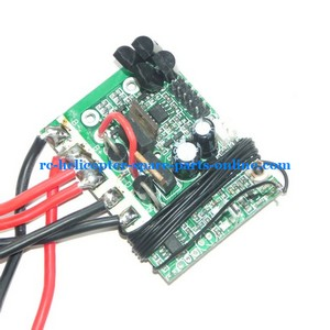FQ777-603 helicopter spare parts PCB board frequency: 27Mhz