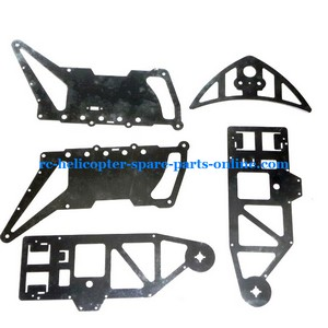 FQ777-603 helicopter spare parts metal frame