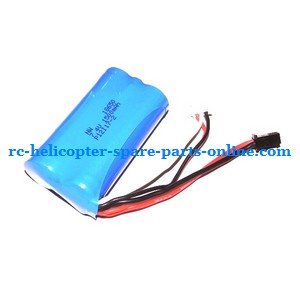 FQ777-777D FQ777-777 RC helicopter spare parts battery 7.4V 1500MaH SM plug