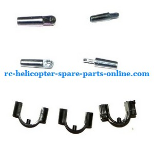 FQ777-777D FQ777-777 RC helicopter spare parts fixed set of the support bar and decorative set