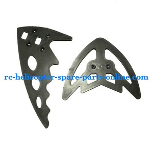FQ777-777D FQ777-777 RC helicopter spare parts tail decorative set (Black)