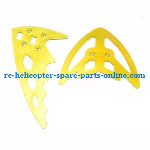 FQ777-777D FQ777-777 RC helicopter spare parts tail decorative set (Golden)