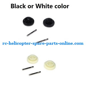 FQ777-777D FQ777-777 RC helicopter spare parts driven gear set (Black or White)