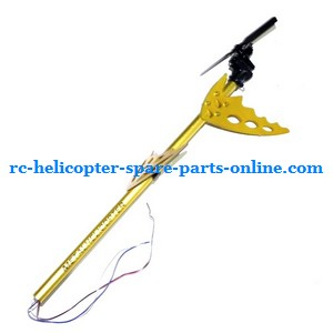 FQ777-777D FQ777-777 RC helicopter spare parts tail set (Golden)