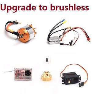 Feiyue FY01 FY02 FY03 FY03H FY04 FY05 RC truck car spare parts upgrade to brushless motor set