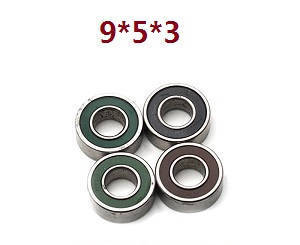 Feiyue FY01 FY02 FY03 FY03H FY04 FY05 RC truck car spare parts bearing 4pcs (9*5*3)