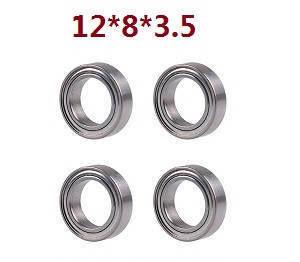 Feiyue FY01 FY02 FY03 FY03H FY04 FY05 RC truck car spare parts bearing 4pcs (12*8*3.5)
