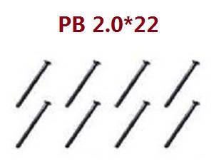 Feiyue FY01 FY02 FY03 FY03H FY04 FY05 RC truck car spare parts screws PB 2.0*22 8pcs