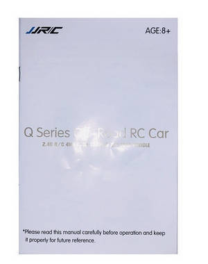 Feiyue FY01 FY02 FY03 FY03H FY04 FY05 RC truck car spare parts English manual book
