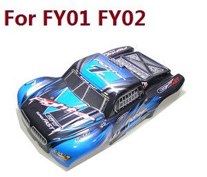 Feiyue FY01 FY02 FY03 FY03H FY04 FY05 RC truck car spare parts upper cover car shell for FY01 FY02 (Blue)