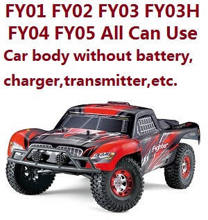Feiyue FY01 car body without transmitter,battery,charger,etc. (All can use)