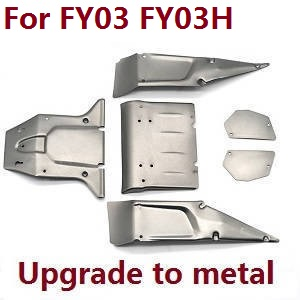 Feiyue FY01 FY02 FY03 FY03H FY04 FY05 RC truck car spare parts car shell for FY03 FY03H (Upgade to metal Gray)